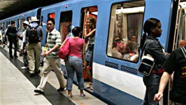 Le métro de Montréal (archives)
