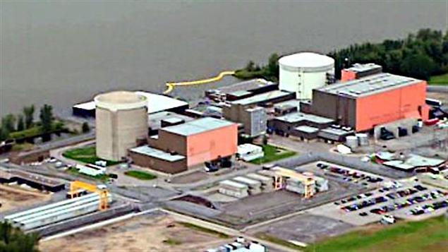 La centrale nucléaire Gentilly-2 (archives)