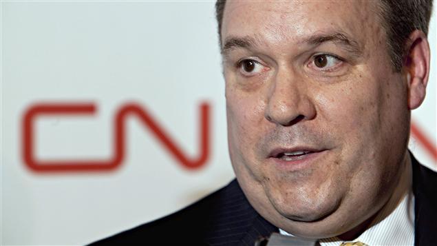 Claude Mongeau, chef de la direction du Canadien National