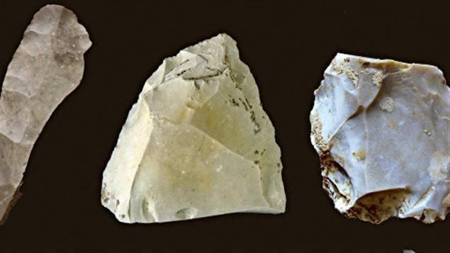 Des débris retrouvés au Texas appartenant possiblement à une société pré-Clovis.