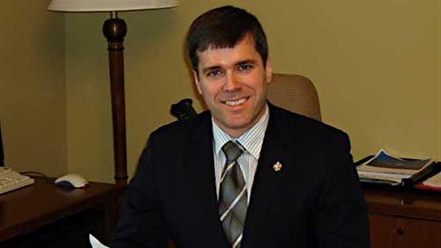 Le candidat conservateur dans Glengarry-Prescott-Russell, Pierre Lemieux.