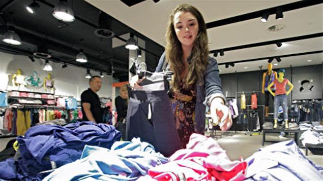 Un détaillant de vêtements