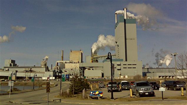 La Ville de Dryden survit grâce à l'usine de pâte à papier de Domtar.