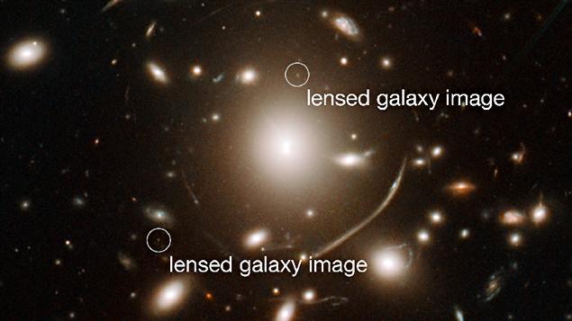 La galaxie âgée observée par les chercheurs