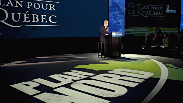 Le premier ministre Jean Charest