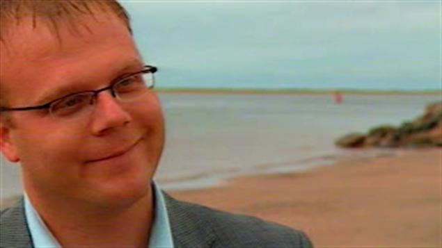 Jonathan Lapierre, maire de la municipalité des Iles de la Madeleine