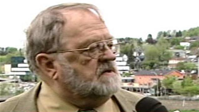 L'ancien maire de Saint-Georges, Roger Carette