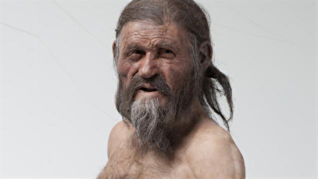 Le visage d'Ötzi