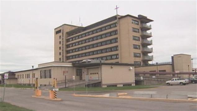 L'hôpital de Jonquière