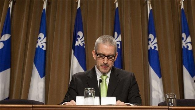 Le député de Nicolet-Yamaska, Jean-Martin Aussant