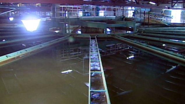 Usine de traitement des eaux de Saskatoon