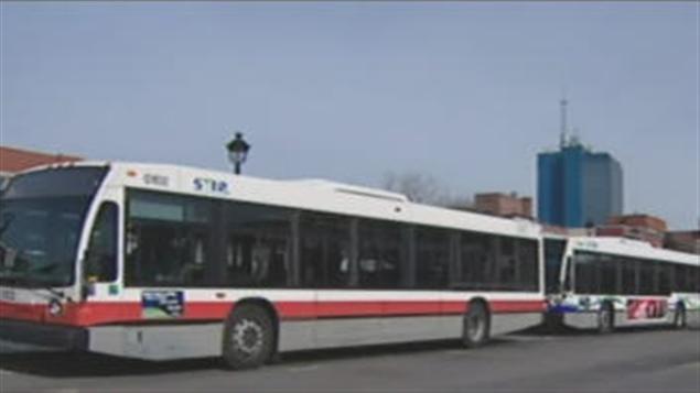 Autobus à Trois-Rivières
