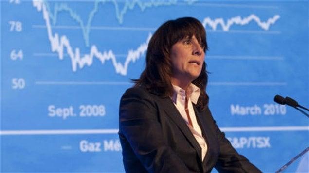 Sophie Brochu PDG de Gaz Métro.