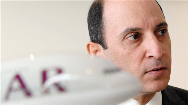 Le PDG de Qatar Airways, Akbar Al-Baker (archives)