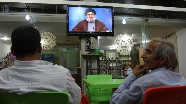 Le chef du Hezbollah libanais, Hassan Nasrallah