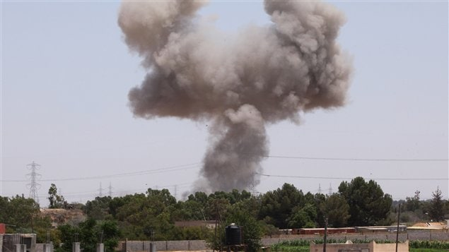 Frappes de l'OTAN à Tripoli