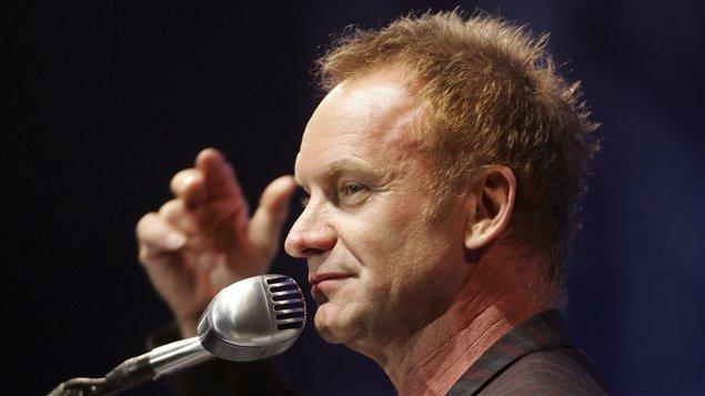 Le chanteur britannique Gordon Sumner, connu sous le nom de Sting (archives)