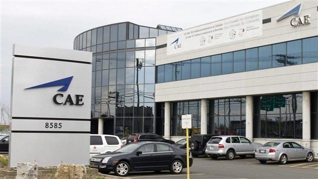 Bureaux de CAE à Montréal (archives)