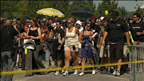 Ouverture des portes au concert de U2 à Montréal