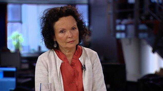 La fondatrice et directrice générale du Wapikoni mobile, la cinéaste Manon Barbeau
