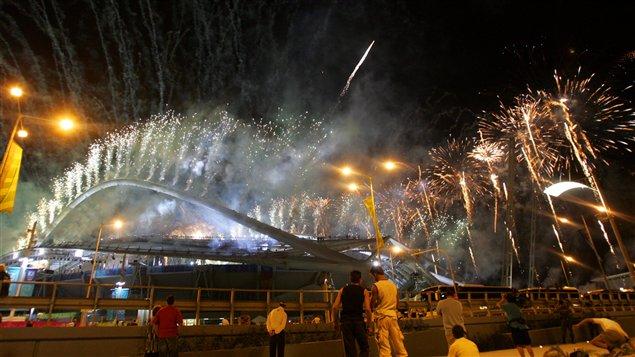 Ouverture des Jeux olympiques d'été de 2004 à Athènes.