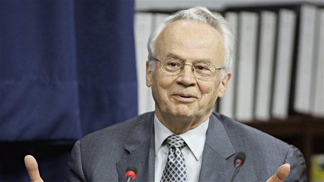 Jacques Corriveau lors de son témoignage devant la commission Gommery en 2005