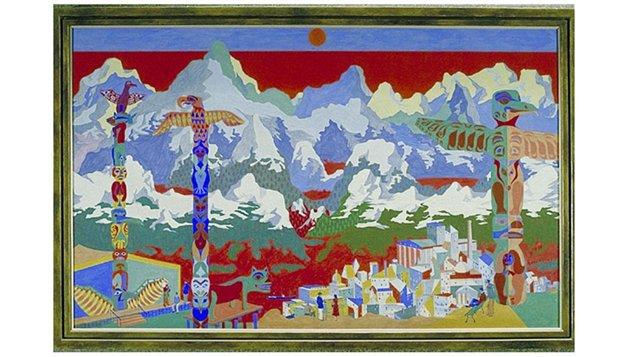 Peinture d'Alfred Pellan