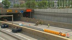 Autoroute 720:annulation de travaux ce week-end dans le tunnel Viger