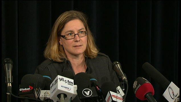 Anne-Marie Leclerc, sous-ministre adjointe à la direction générale des infrastructures pour le ministère des Transports