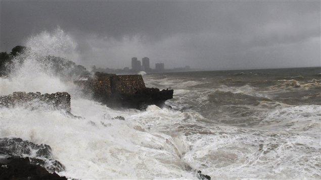 La tempête a atteint les côtes de la République dominicaine.