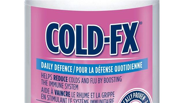 Afexa vend notamment le produit Cold-Fx