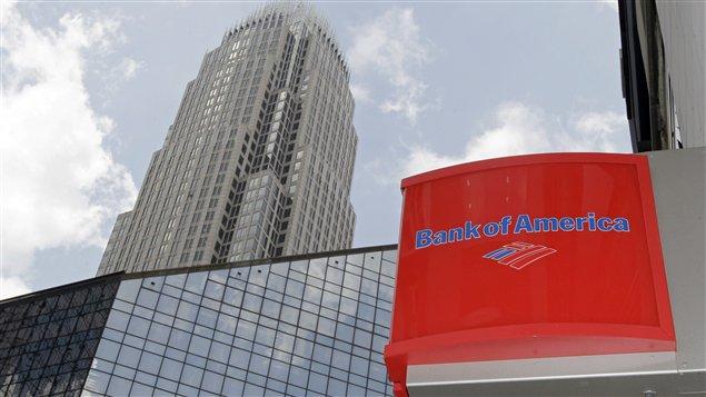 Le siège social de Bank of America, à Charlotte en Caroline du Nord