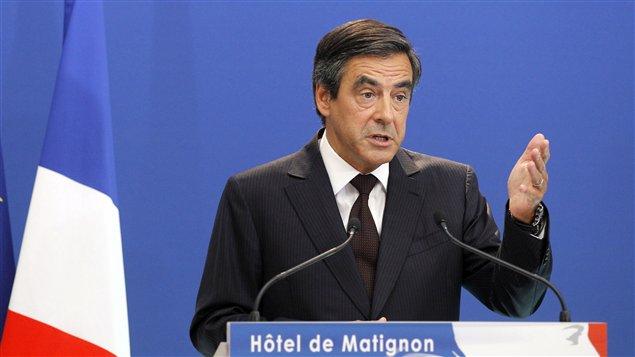 Le premier ministre français Français Fillon