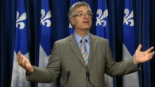Le ministre de la Justice du Québec, Jean-Marc Fournier
