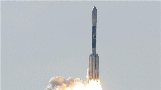Lancement des sondes GRAIL