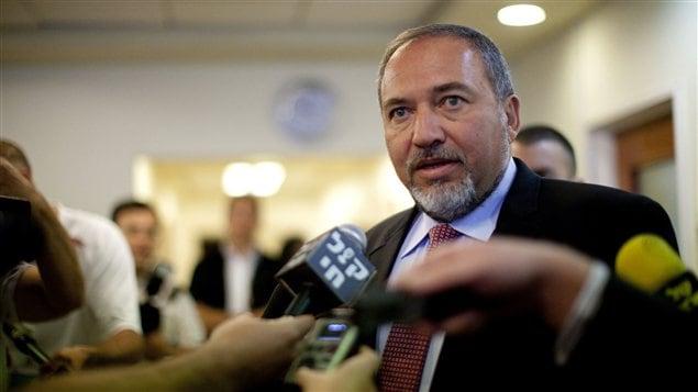Le ministre israélien des Affaires étrangères, Avigor Lieberman (archives)