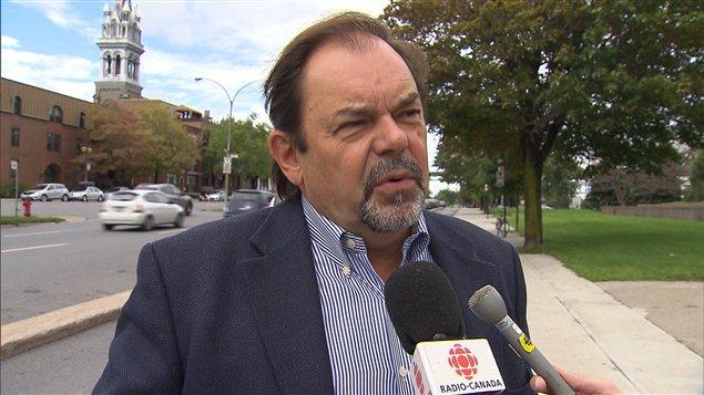 L'ex-président du comité exécutif à la Ville, Jean Fortier