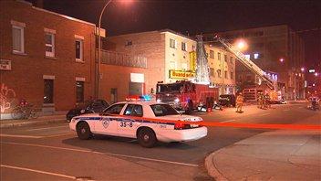 Les pompiers ont trouvé des traces d'accélérant sur les lieux.