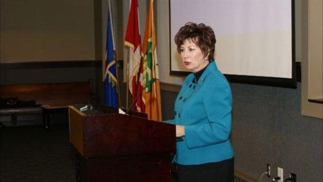 La sénatrice Claudette Tardif.