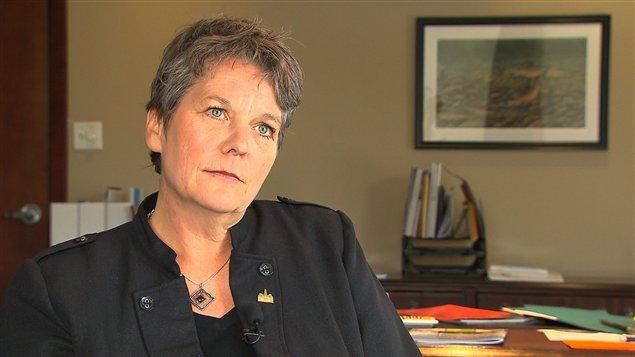 La mairesse Chantal Rouleau