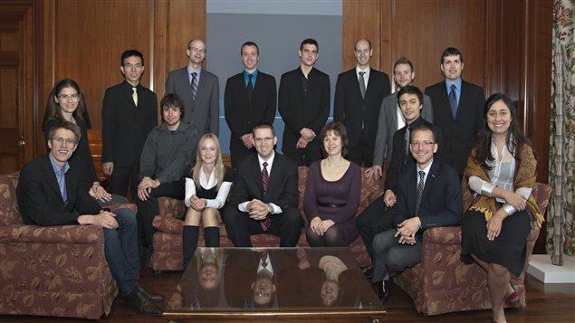 Les 16 candidats de la 2e édition du Concours international d'orgue du Canada.