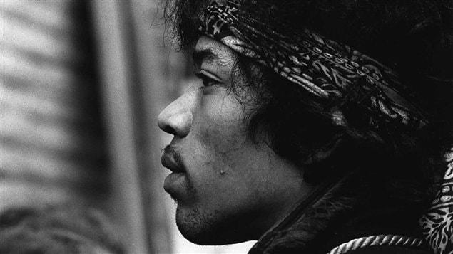 Jimi Hendrix, photographié en 1967 / © Presse Canadienne