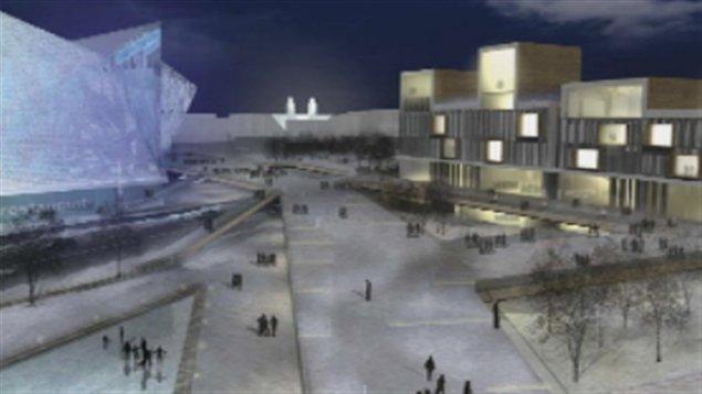 Projet d'amphithéâtre à Québec