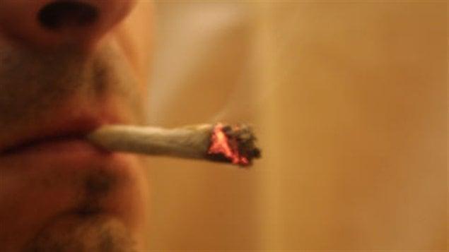 Fumeur de marijuana