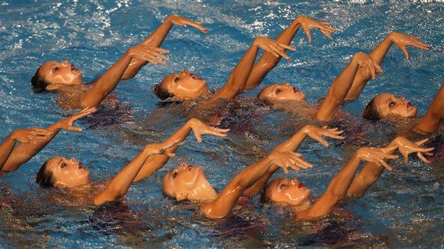 Équipe canadienne de nage synchronisée