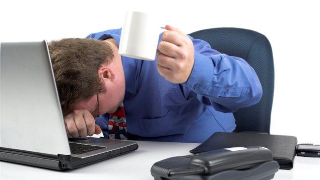 Travailleur stressé