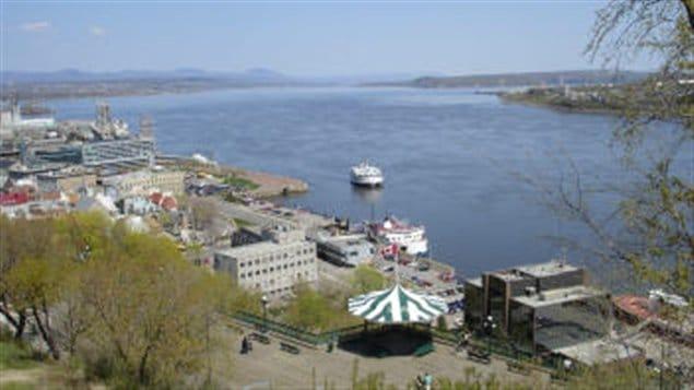 Fleuve Saint-Laurent à Québec