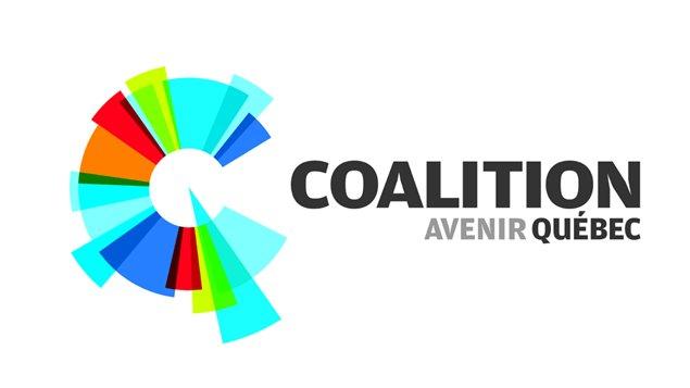 Logo de la Coalition avenir Québec