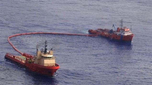 Déversement de pétrole au Brésil