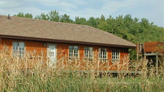 La station de recherche du marais Delta sur le lac Manitoba a été touché par les inondations d'envergure du printemps 2011.